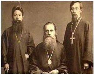 Святитель Николай Японский с помощниками