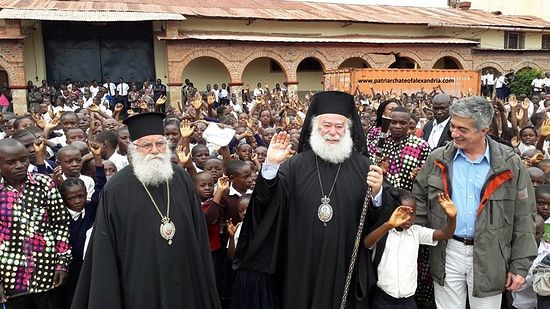 Photo: The web site of the Patriarchate of Alexandria and All Africa