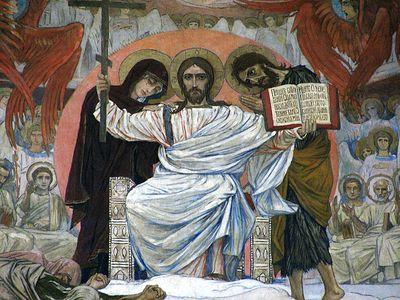 Всенощное бдение в Сретенском монастыре накануне Недели мясопустной, о Страшном суде