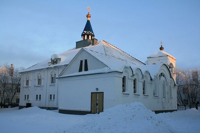 The Church of Archangel Michael in Vorkuta
