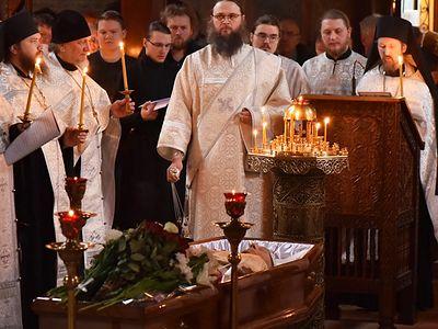 В Сретенском монастыре прошло отпевание Игоря Шафаревича