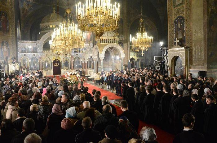 Божественная литургия в соборе св. Александра Невского 26.02.2016 г.