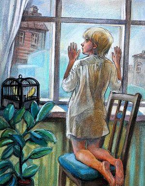 Лето Господне. И. С. Шмелёв. Иллюстрация: Исаичева Н.