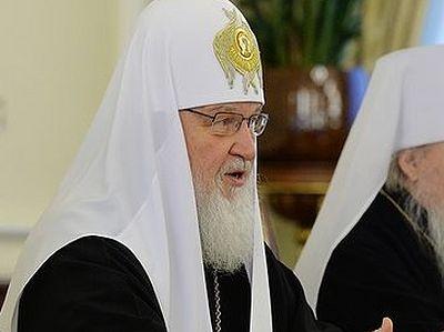 Патриарх Кирилл: Невозможно построить справедливое общество, отвергнув Бога