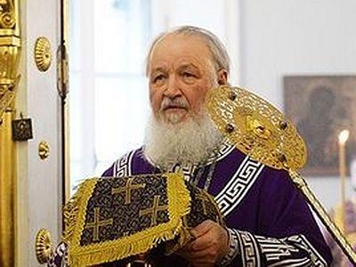 Патриарх Кирилл: Господь дает Свою благодать прежде всего в Таинствах Церкви