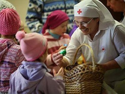 Служба «Милосердие» начала традиционную акцию «Дари радость на Пасху»