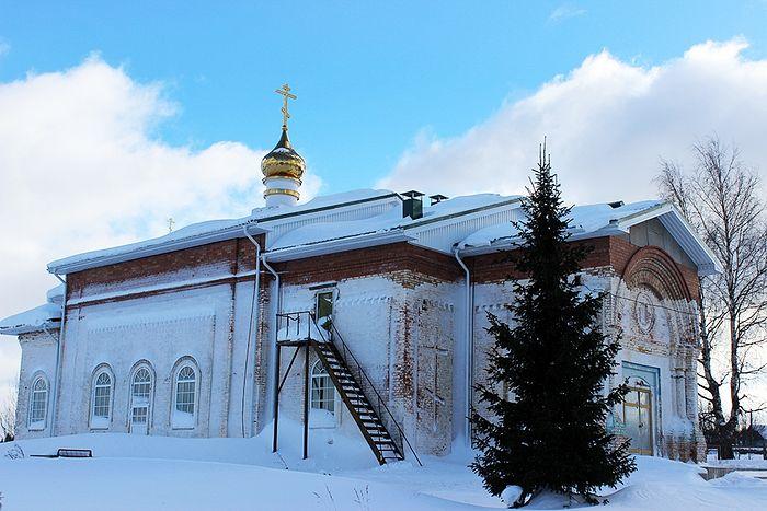 Никольский храм Семуково в наши дни