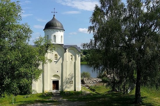 St. George's Church, Staraya Ladoga. Photo: Wikipedia.org