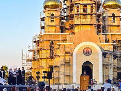 На Кипре пройдет освящение храма, построенного в русском стиле