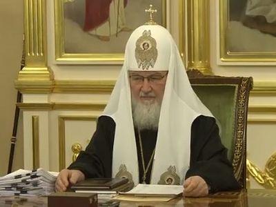 Патриарх Кирилл возглавил очередное заседание Священного Синода
