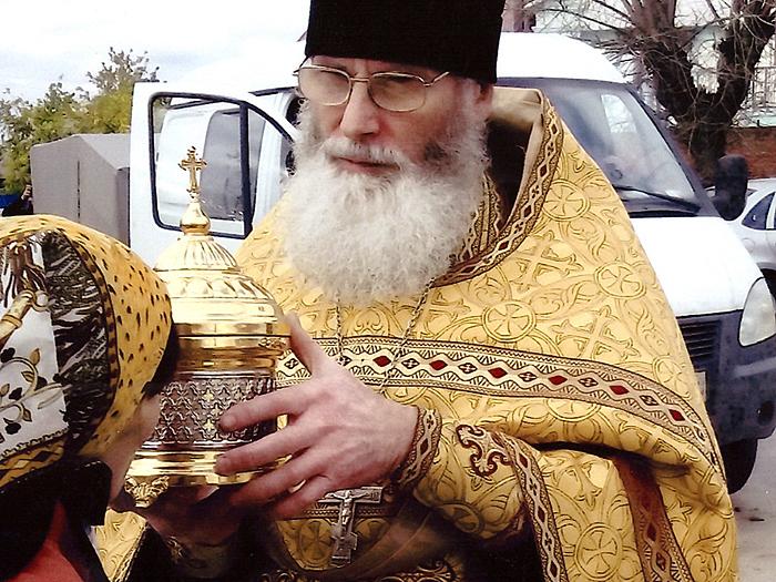 Священник Олег Кипрушкин