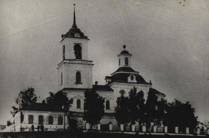 Храм Богоявления Господня в Пышме. 1901 г.