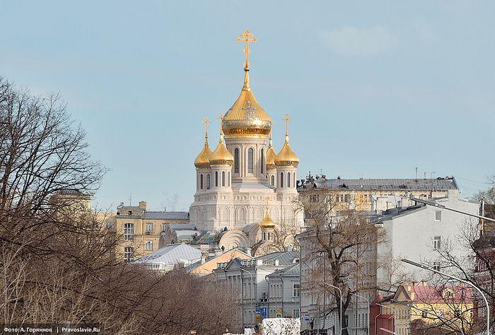 Храм в честь Воскресения Христова и Новомучеников Церкви Русской. Фото: Анатолий Горяинов / Православие.Ru