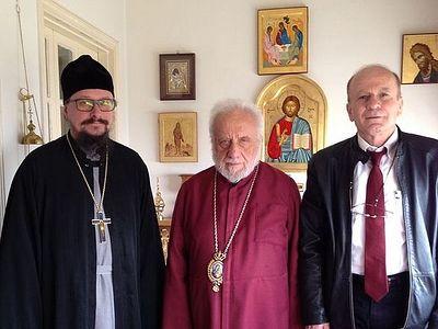Митрополит Гор Ливанских встретился с Представителем Русской Православной Церкви