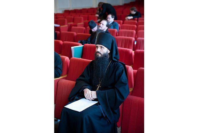 Отец Ианнуарий в Московской духовной академии