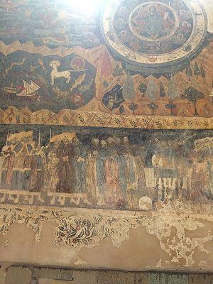 Старинные фрески. Страшный Суд