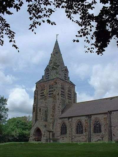 St. Chad's Church in Longsdon, Staffordshire
