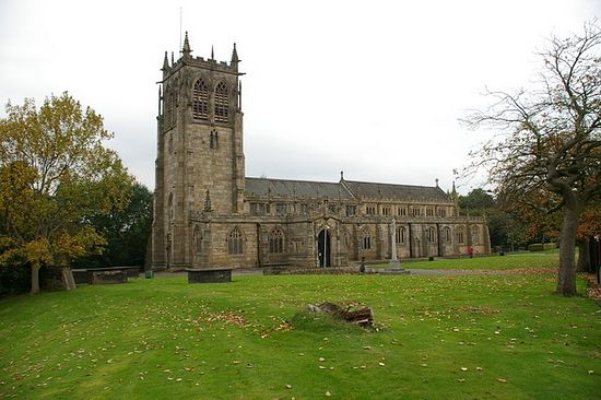 St. Chad's Church in Rochdale, Greater Manchester