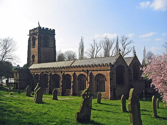 St. Chad's Church in Winsford, Cheshire