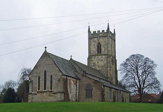 The Holy Trinity Norman Church in Barrow-upon-Humber, Lincolnshire