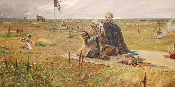 Павел Рыженко. Александр Невский и хан Сартак.