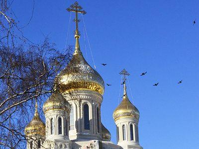 В храме Новомучеников и исповедников Российских на Лубянке прошла первая служба