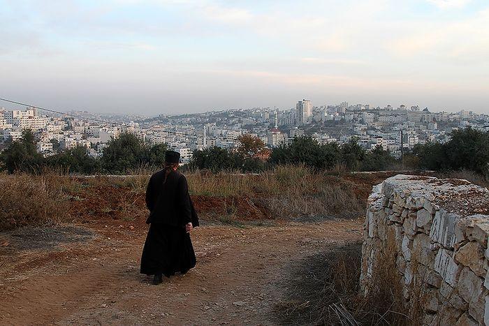 Дороги монастыря. Панорама Хеврона