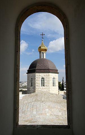 Из окна колокольни