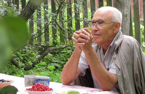 Лауреат Патриаршей литературной премии Борис Екимов