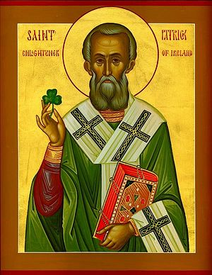 St. Patrick the Bishop of Armagh and Enlightener of Ireland. Photo: Orthochristian.com