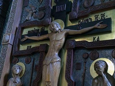 Всенощное бдение в Сретенском монастыре накануне З-й недели Великого поста, Крестопоклонной