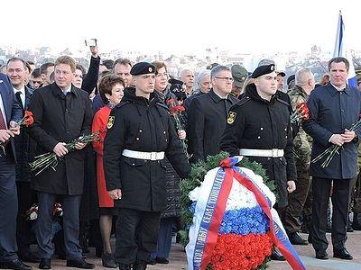 «Мы вернулись домой!» – в Севастополе прошел праздничный митинг