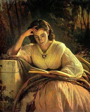 Крамской И.Н. Портрет Софьи Крамской, 1869