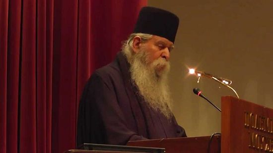 Archimandrite Chrysostomos. Photo: Orthodox Ethos