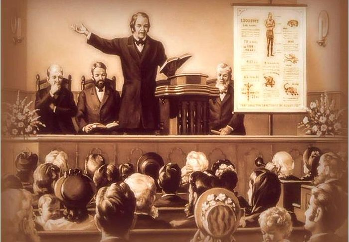 Уильям Миллер представляет расчёты даты конца света