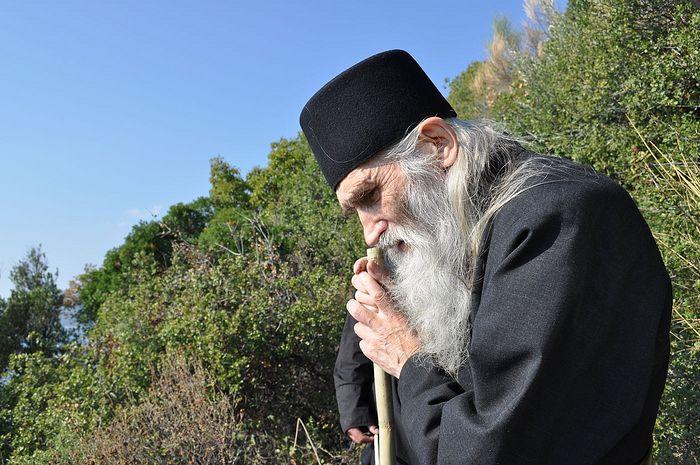 Схиархимандрит Илий (Ноздрин) на Афоне