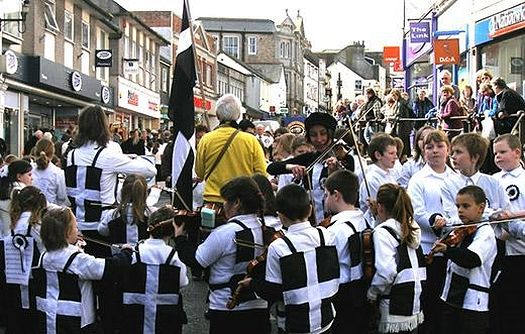 A St. Piran's Day parade
