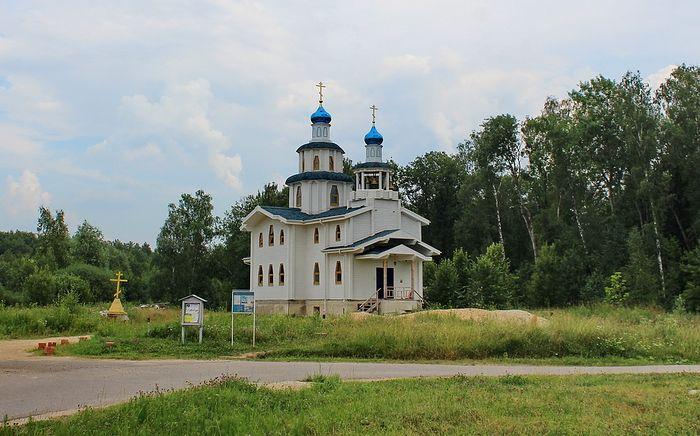 Храм в честь Сретения Господня в селе Афанасово. Фото: fotki.yandex.ru/users/sapozhnik-1