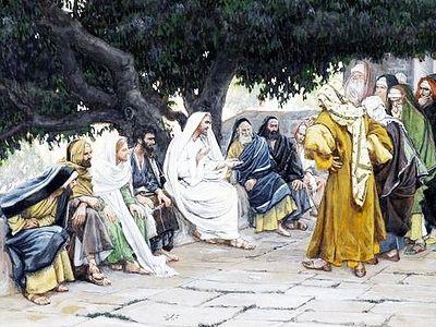 Разговор Христа с саддукеями