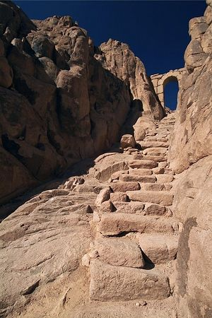 Ascent to Holy Mount Sinai