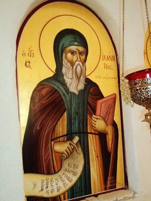 Saint John of the Ladder (Climacus)