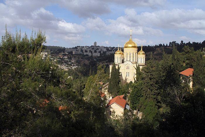 Вид на Горненский монастырь
