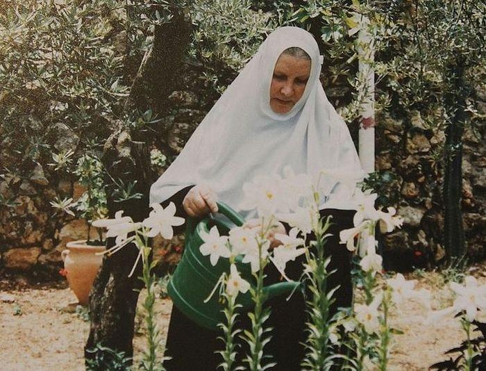 Фото из Архива матушки Георгии -начало игуменства в Горненском