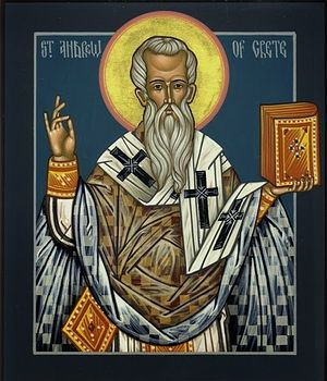 St. Andrew of Crete. Photo: faithofthefatherssaintquote.blogspot.ru