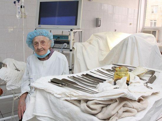 Хирург Алла Ильинична Левушкина: «Во время операции вообще не устаю».