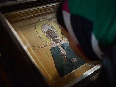 В Белгороде замироточили иконы св. блаж. Матроны Московской