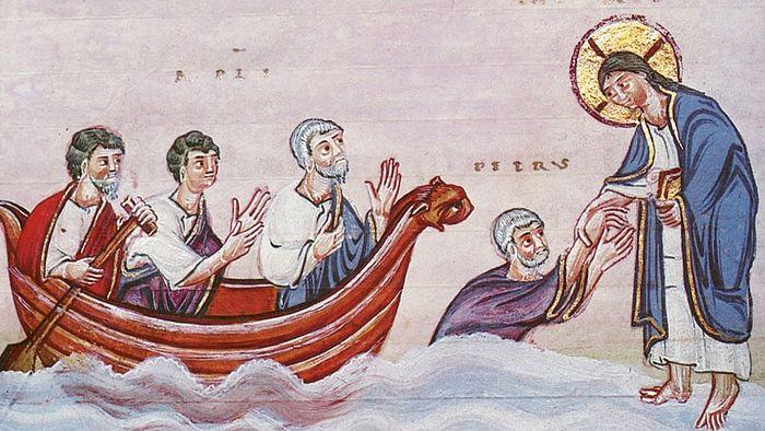 Маловерје апостола Петра