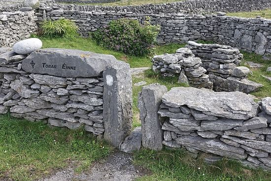 St. Enda's well on Inisheer