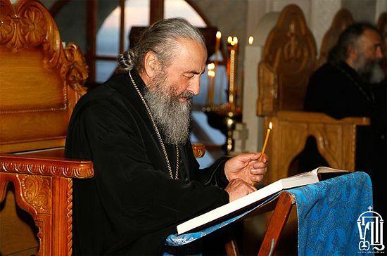 Metropolitan Onuphry (Berezovsky). Photo: Ukrainian Orthodox Church