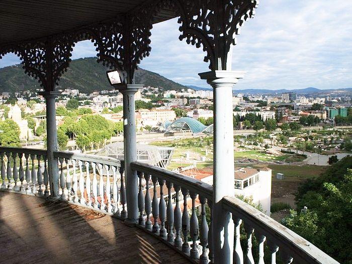 Вид с террасы Преображенского монастыря